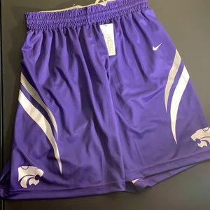 NWT Kansas State Women's Basketball shorts
